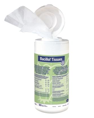 Απολυμαντικά μαντηλάκια επιφανειών Bacillol 100 Τεμαχίων φωτό 1