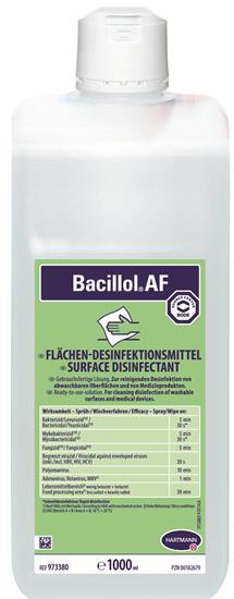 Bacillol απολυμαντικό επιφανειών, 1000ml φωτό 1