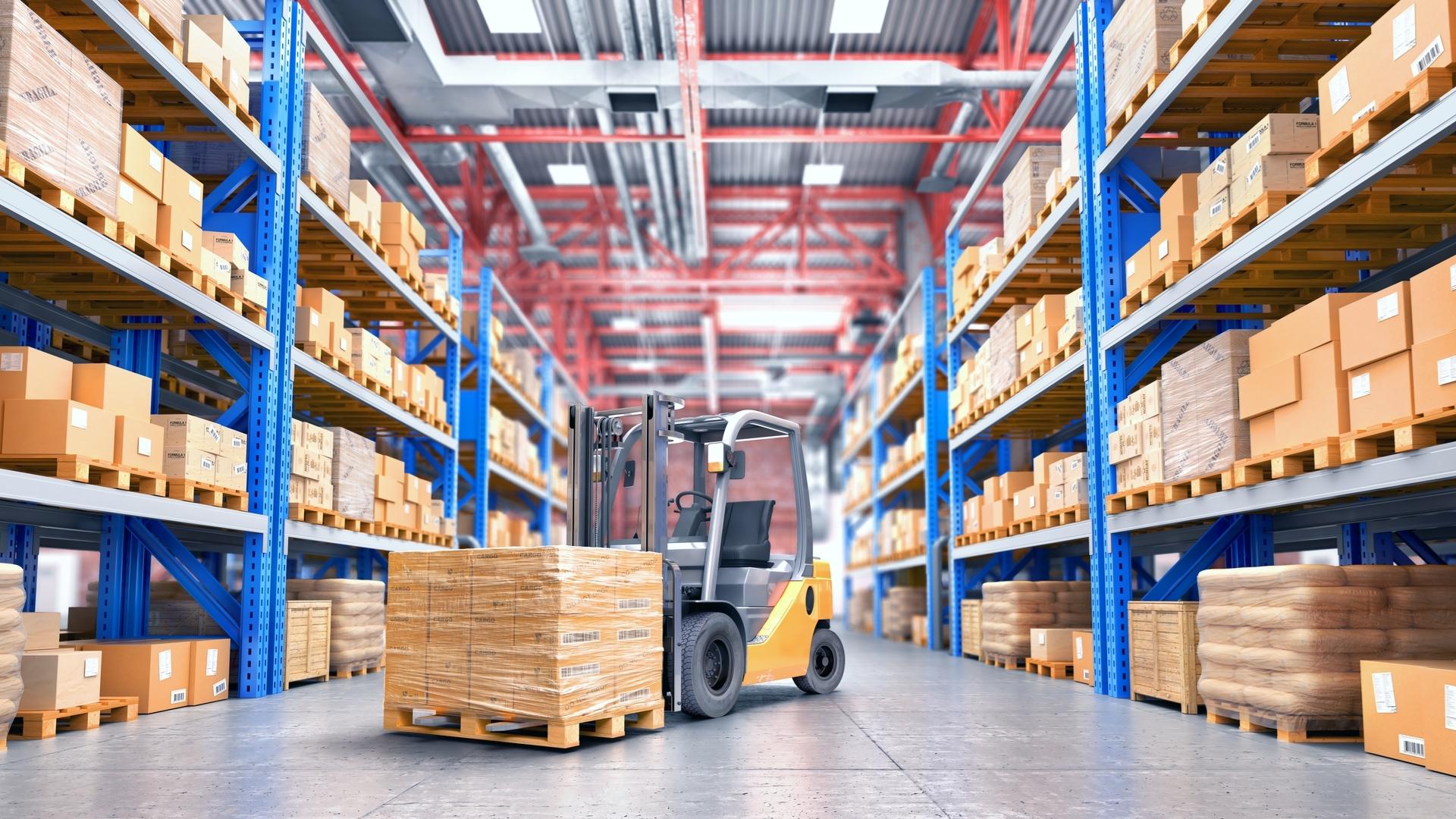 Χώρος αποθήκευσης και διαμεταφοράς εμπορευμάτων 3PL Logistics GEA Solutions